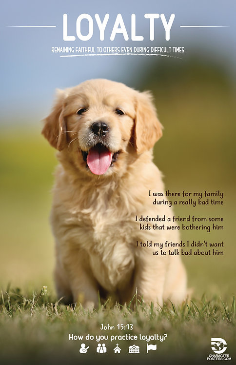 Animals Examples & Bible Verse - Loyalty
