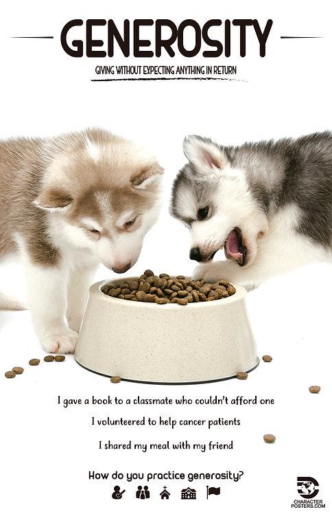 Animals with Examples - Generosity