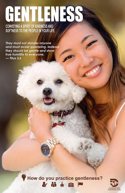 Gentleness Asian Poster