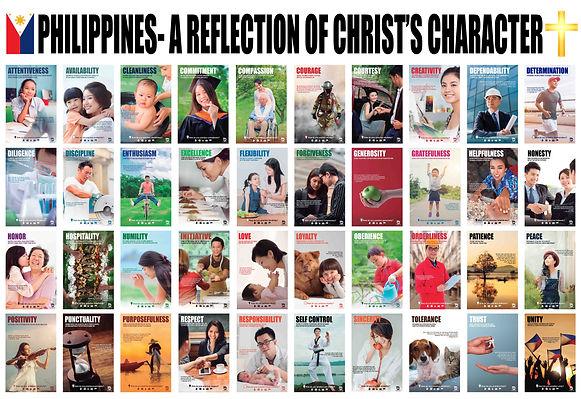 40 Asian Character Poster Bible Verses C
