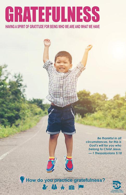 Asian 40 NIV NLT NKJV - Gratefulness
