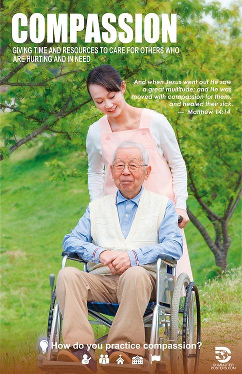 Asian 40 NIV NLT NKJV - Compassion