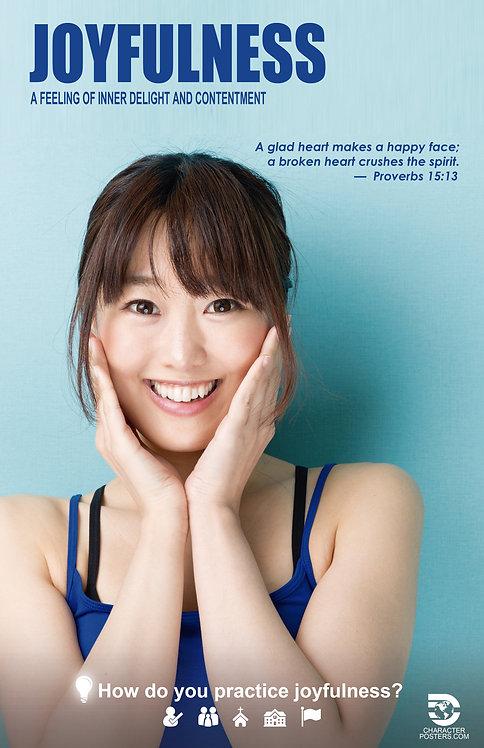 Joyfulness Asian Poster