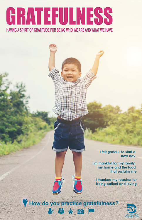 Asian 40 Examples - Gratefulness