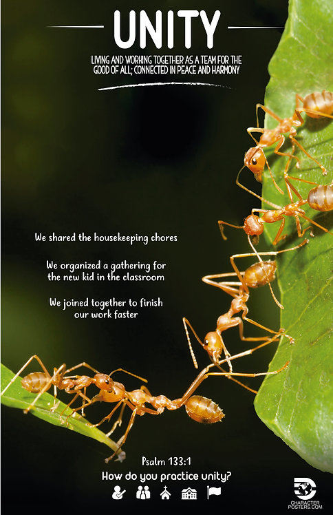 Animals Examples & Bible Verse - Unity