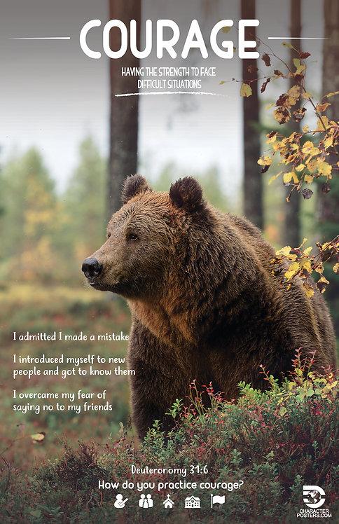 Animals Examples & Bible Verse - Courage