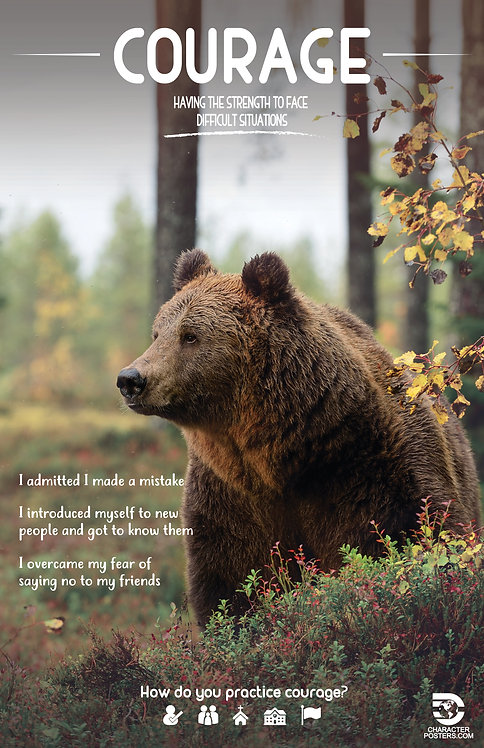 Animals with Examples - Courage