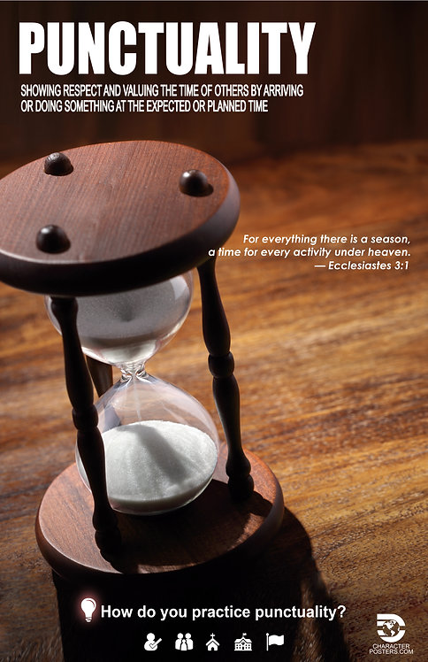 Punctuality Asian Poster