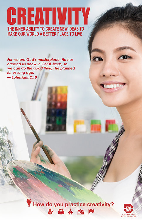 Asian 40 NIV NLT NKJV - Creativity