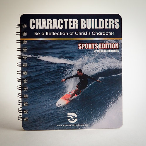 Character Booklet Sports