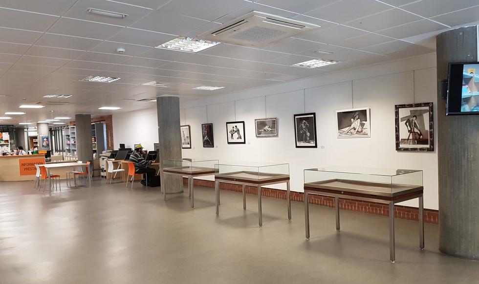 Exposicion Biblioteca NODAL de Lugo