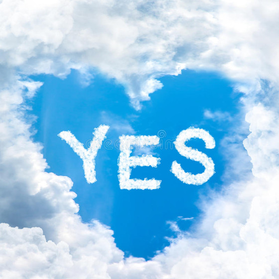 """Let your """"Yes""""..."""