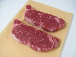 Certified Angus striploin steak