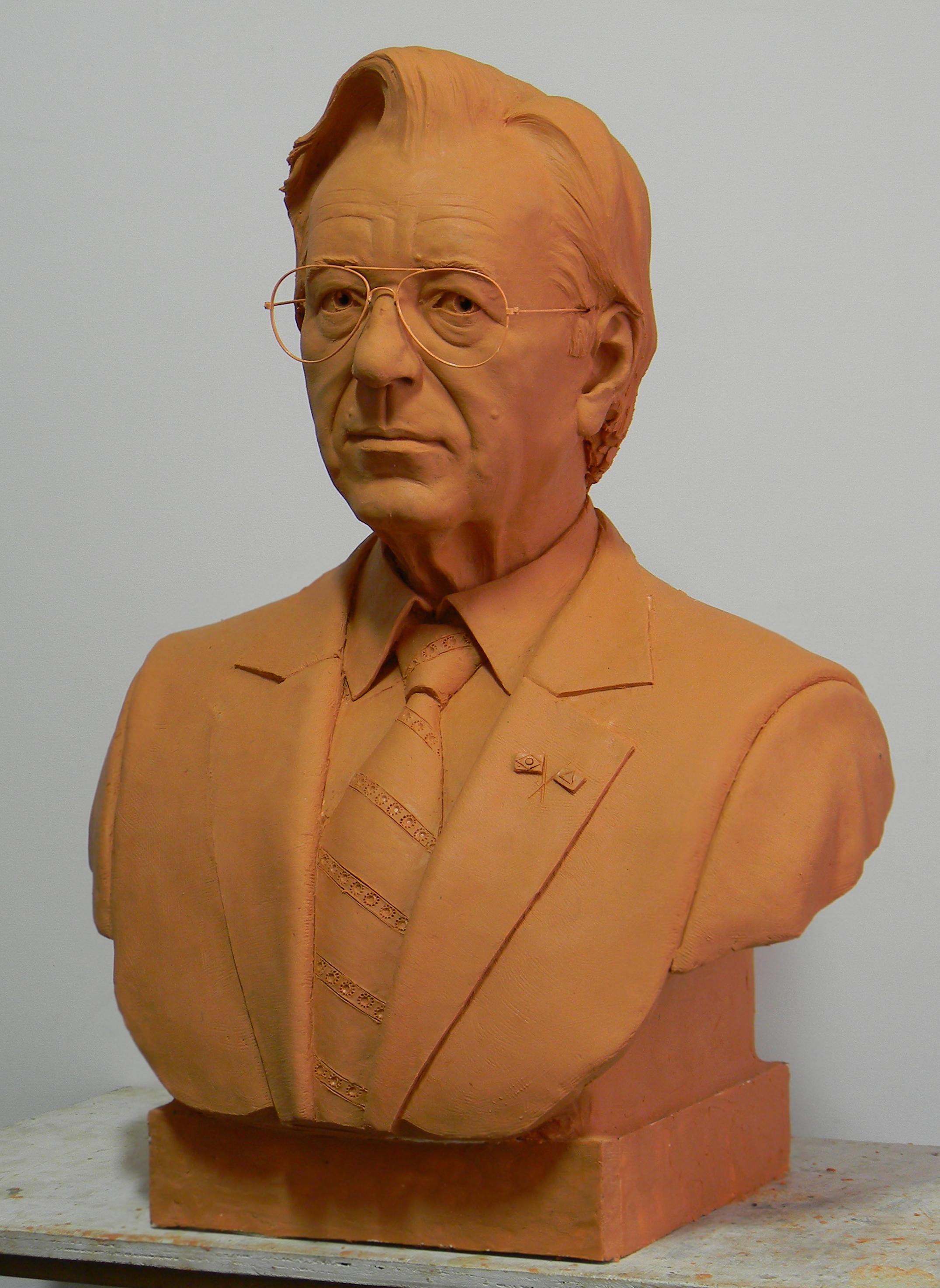 Pres. Itamar Franco em plastilina