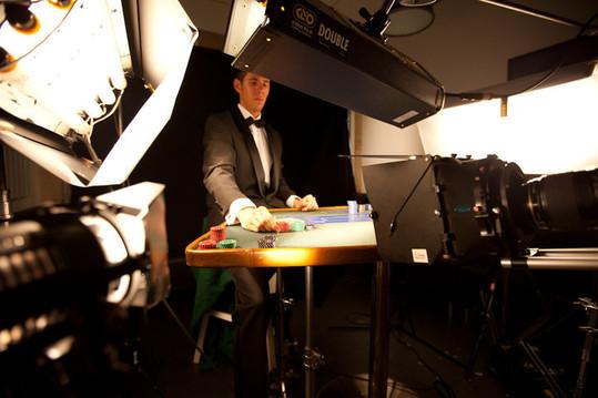 Magicien Manipulation tournage Publicité télévision cinéma