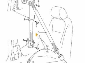 Gordelspanner J854/J855 basis-afstelling
