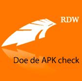 Doehier de gratis APK check