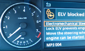BMW & Mini stuurslot foutcode A116