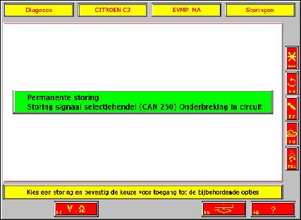 Citroen C3 sensodrive storing