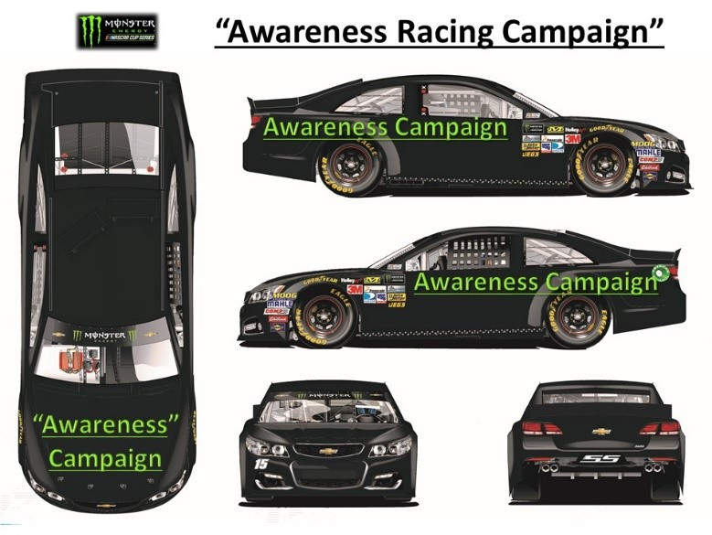 NASCAR charity sponsorship