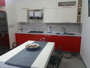 arredamento su misura cucina laccata ros
