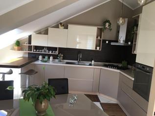 Cucina moderna mansarda arredamento casa