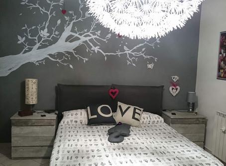 Progetto: camera da letto moderna
