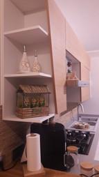 Cucina Moderna in rovere e bianco