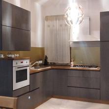 cucina moderna grigio rovere