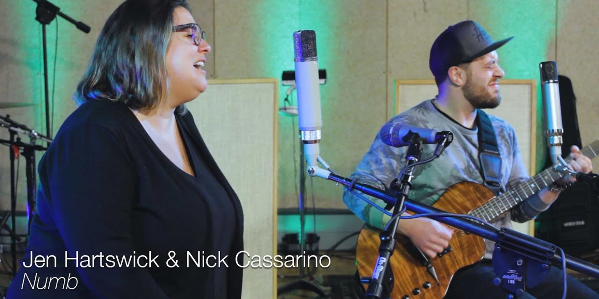 "Jen Hartswick and Nick Cassarino - ""Numb"" (TELEFUNKEN Live From The Lab)"