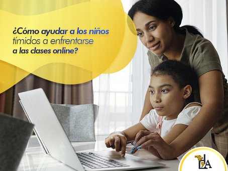 ¿Cómo ayudar a los niños tímidos a enfrentarse a las clases online?