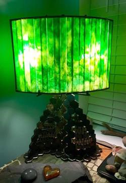 Lamp - Green Goddess (sold)