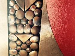 Lamp - Red, Closeup