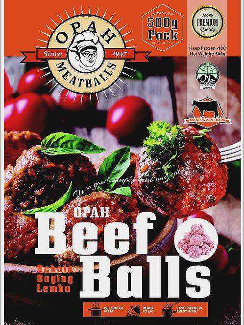 Beef Meatballs (500g)