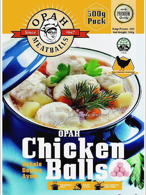 Chicken Meatballs (500g)