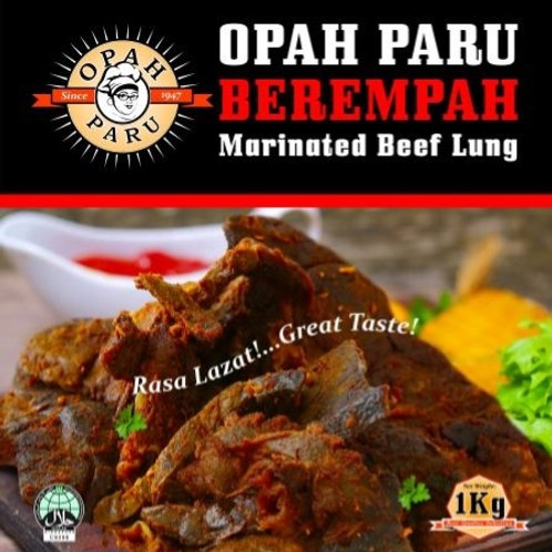 Paru Berempah / Marinated Beef Lungs (1kg)