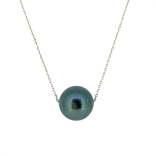 TAHITIAN CULTURED PEARL FLOATING PENDANT