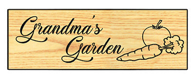 Grandma's Garden - Veggies