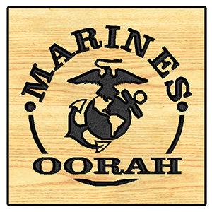 Marines Oorah w/ EGA