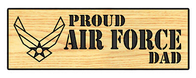 Proud Air Force Dad