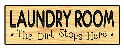 Laundry Room - The Dirt Stops Here