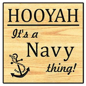 Hooyah - It's a Navy Thing