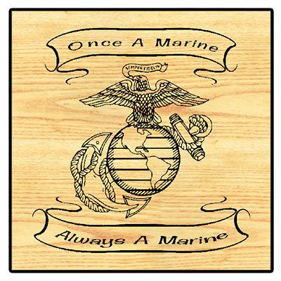 Once A Marine Always A Marine EGA