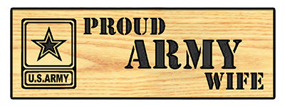 Proud Army Wife