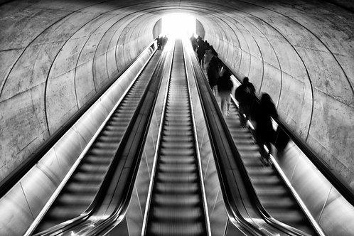 97 WASHINGTON, DC - SUBWAY TUNNEL ENTRANCE