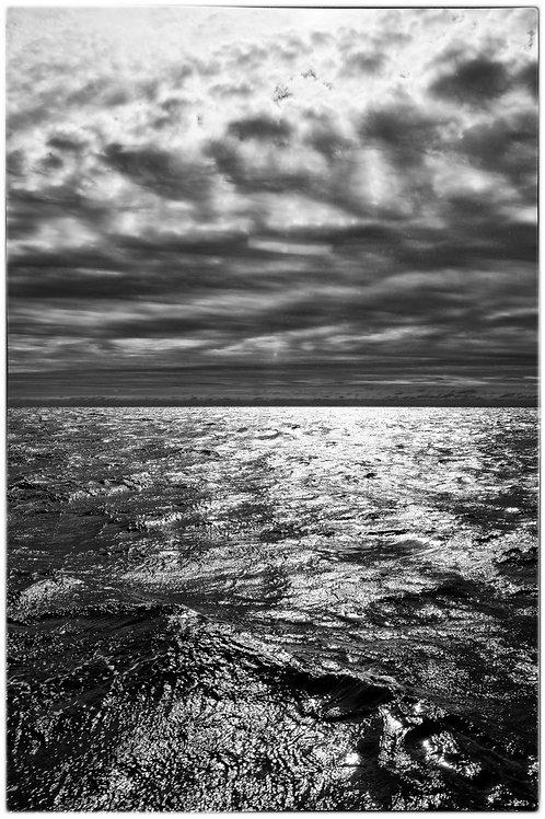 110 MOHEGAN ISLAND, MAINE - ROUGH SEAS #1 (VERT)