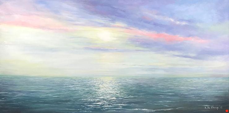 2018 October sunset on Chesapeake Bay 61