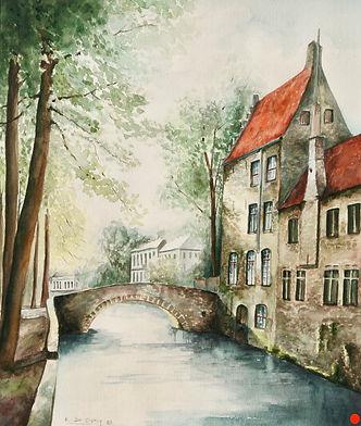 1986 Bruges, De Reien 71 x 61 cm.jpeg