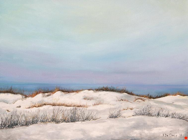 2018 East Beach Dunes Winterevening 46 x