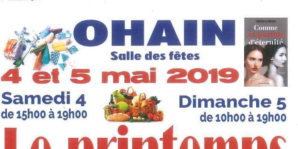 4 & 5 mai 2019 - OHAIN - PRINTEMPS DES CRÉATEURS ET DES SAVEURS - Rencontres & Dédicaces